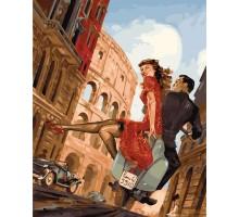 Картина по номерам Улочками Рима