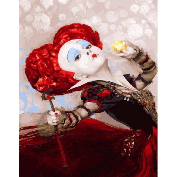 Картина по номерам Красная королева