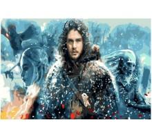Картина по номерам Игра престолов Джон Сноу