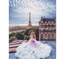 Картина по номерам Парижские мечты
