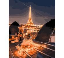 Картина по номерам Ночные крыши Парижа