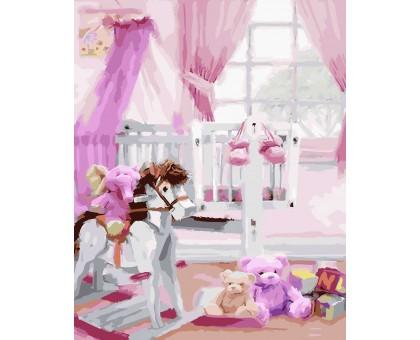 Картина по номерам Детская комната