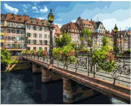 Картина по номерам Страсбург