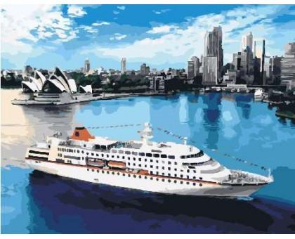 Картина по номерам Лайнер в Сиднее