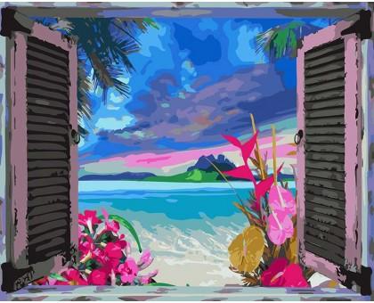 Картина по номерам Вид на океан