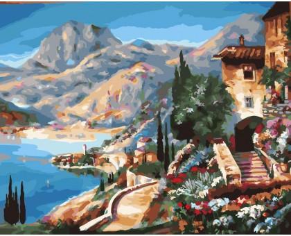 Картина по номерам Средиземноморский пейзаж
