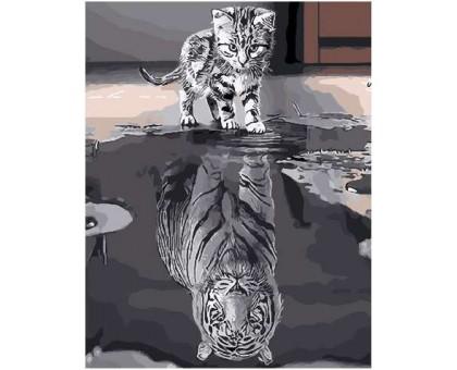 Картина по номерам Душа тигра