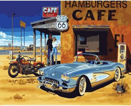 Картина по номерам Техасское кафе