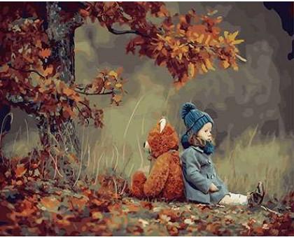 Картина по номерам Осеннее настроение