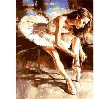 Картина по номерам Молодая балерина