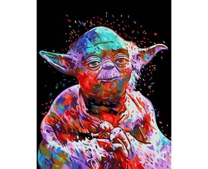 Картина по номерам Мастер Йода