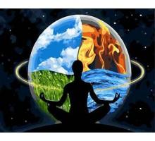 Картина по номерам Гармония вселенной