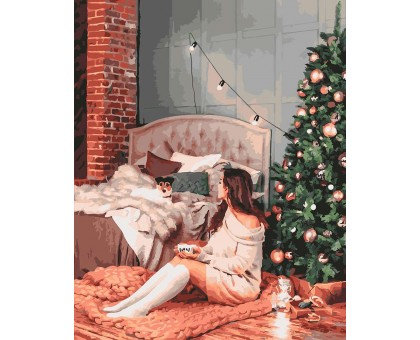 Картина по номерам Новогодний уют