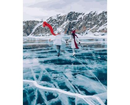Картина по номерам Прогулка по озеру Байкал