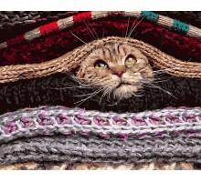 Картина по номерам Под одеялами