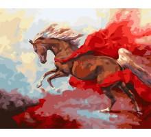 Картина по номерам Грациозная лошадь