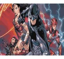 Картина по номерам Вселенная DC