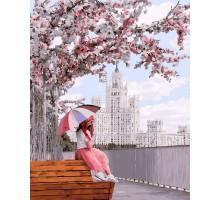 Картина по номерам Отдых на розовой аллее