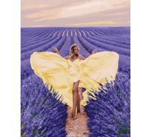 Картина по номерам Очарование в лавандовом поле