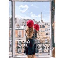 Картина по номерам Мадмуазель Париж