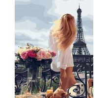 Картина по номерам Очарование Парижа