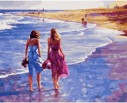 Картина по номерам Босиком по песку