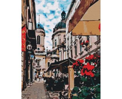 Картина по номерам Львовская улочка