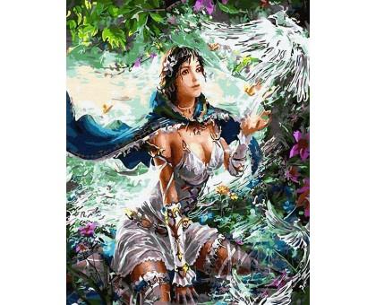 Картина по номерам Принцесса