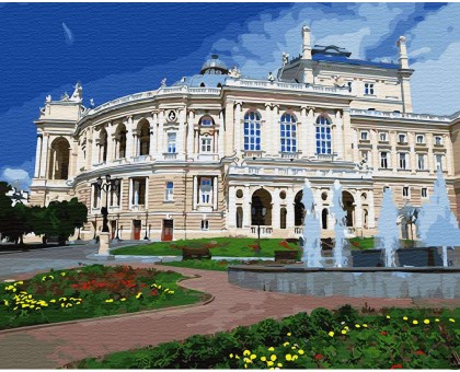 Картина по номерам Одесский театр оперы и балета