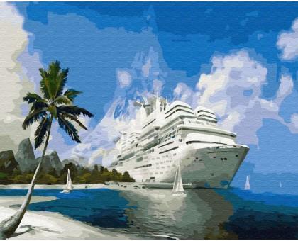 Картина по номерам Круизный лайнер