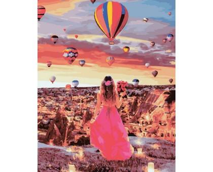 Картина по номерам Рассвет в Каппадокии