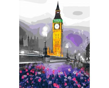 Картина по номерам Лондонская ночь