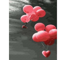 Картина по номерам Шарики с любовью