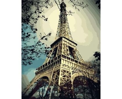 Раскраска по номерам Магия Парижа
