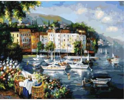 Картина по номерам Солнечный городок