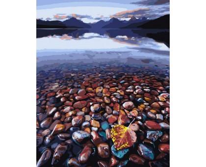 Картина по номерам Морские камешки