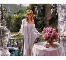 Картина по номерам Женское очарование