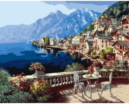 Картина по номерам Халлштат, Австрия