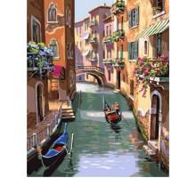 Картина по номерам Каналы Венеции