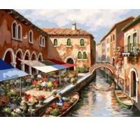 Картина по номерам Канал Венеции