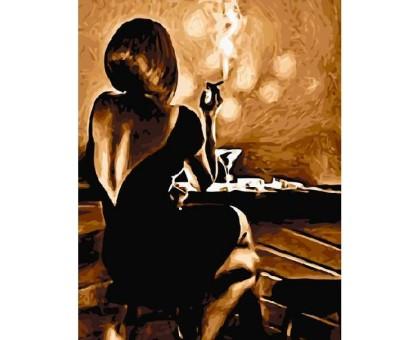 Картина по номерам Вечер в баре