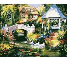 Картина по номерам Утиная речка