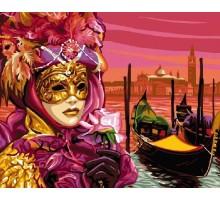 Картина по номерам Венецианская маска