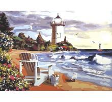 Картина по номерам Вид на маяк