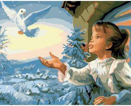 Картина по номерам Птица мира