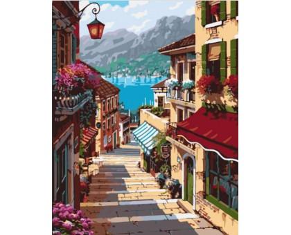 Картина по номерам Поселок Белладжио