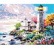 Картина по номерам Дом у маяка