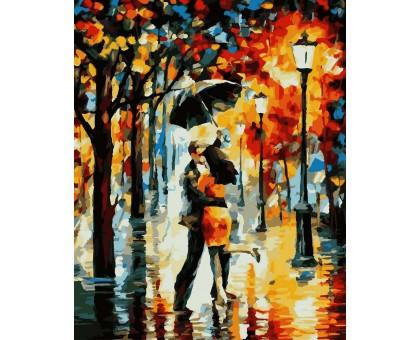Картина по номерам Танец под дождём