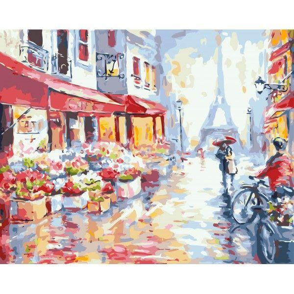 Весенний дождь в Париже