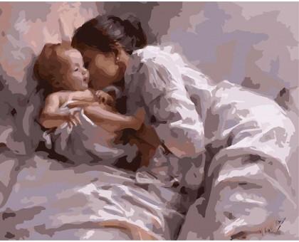 Картина по номерам Материнская любовь